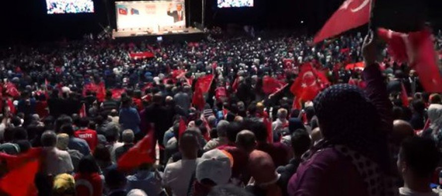 The Ottoman Empire Rises Again: Turkey Rallies 12,000 in France Against Europe [Video]