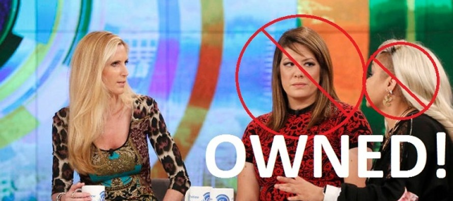 "Watch Ann Coulter Completely Crush the Hosts of ""The View"""