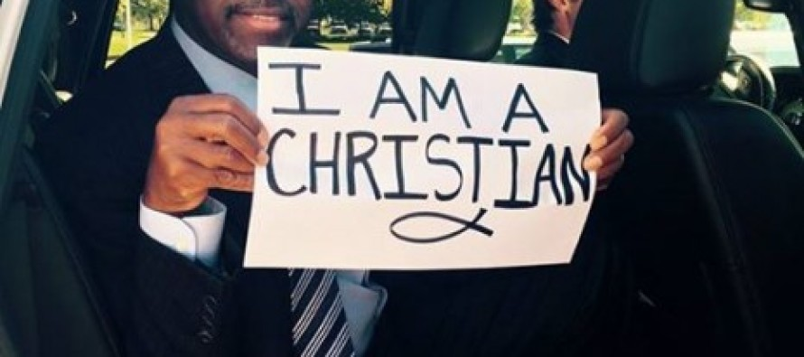 Ben Carson Makes A Big Statement In This One Photo Amid Reports The Oregon Shooter Targeted Christians