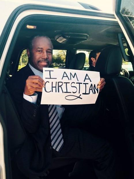 ben carson christian