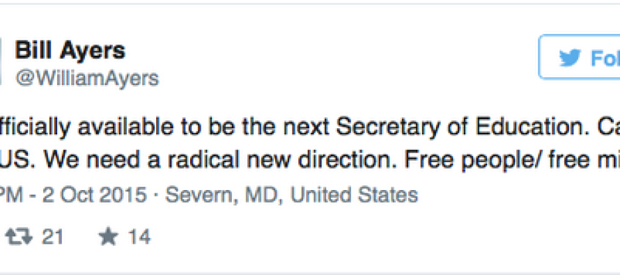 Look Who Wants To Be New Head Of The Dept Of Education