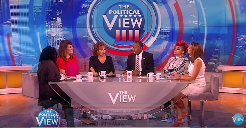 carson on the view