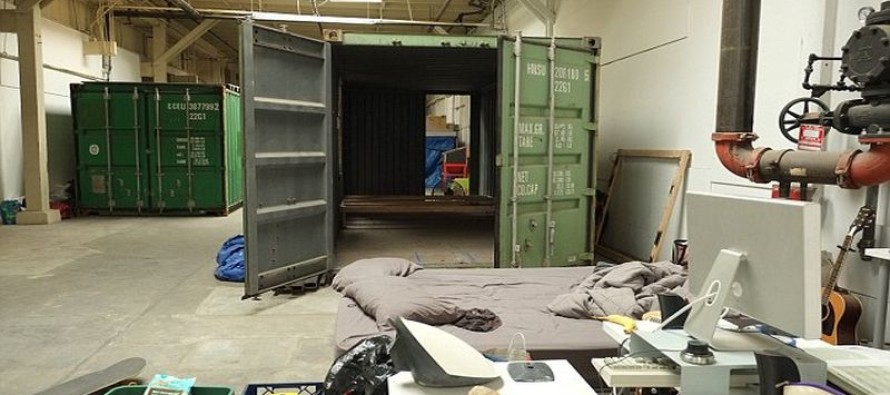 How pricey is rent in liberal San Fran? Young professionals are moving into SHIPPING CONTAINERS