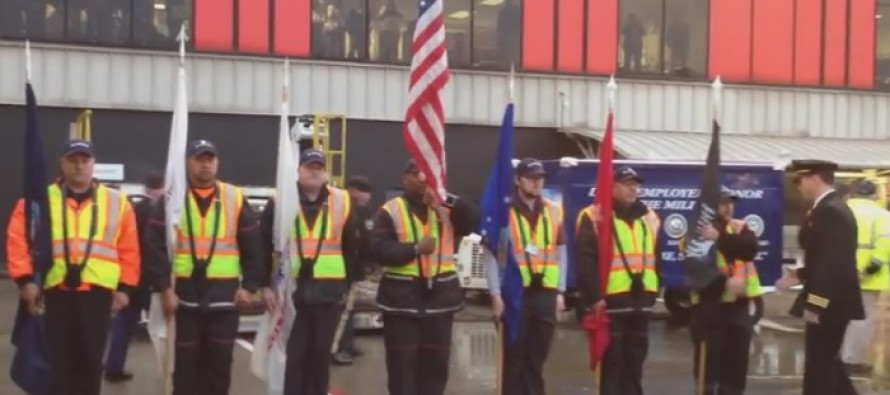 VIDEO – Airport Baggage Handlers Shocking Treatment of Dead Vet