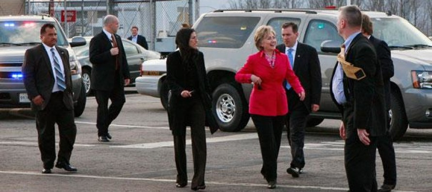 "Secret Service Agent Wishes Hillary a ""Good Morning"", and She Responds With Two Shocking Words"