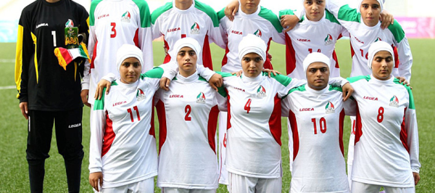 EIGHT of Iran's women's soccer team are actually….