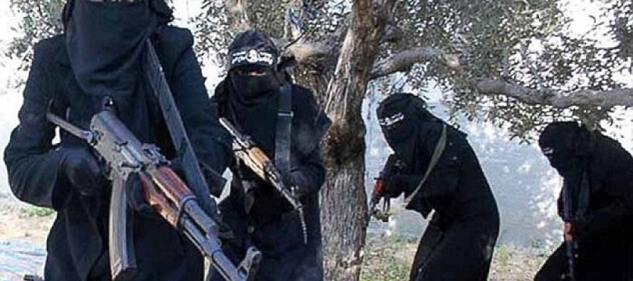 ISIS Forms New Female Squad to Carry Out Bombings Because They are Running Out of Children to Use