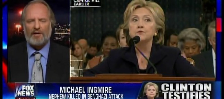 Benghazi Victim's Uncle: Glad Hillary Had Party After Hearing, Too Bad My Nephew Couldn't Make It