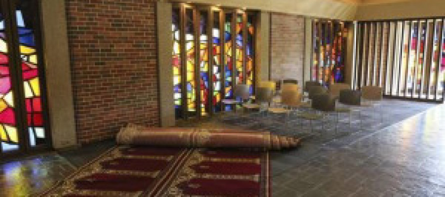 Muslims Take Over Christian Chapel With University's Help And Christians Are Accused Of THIS