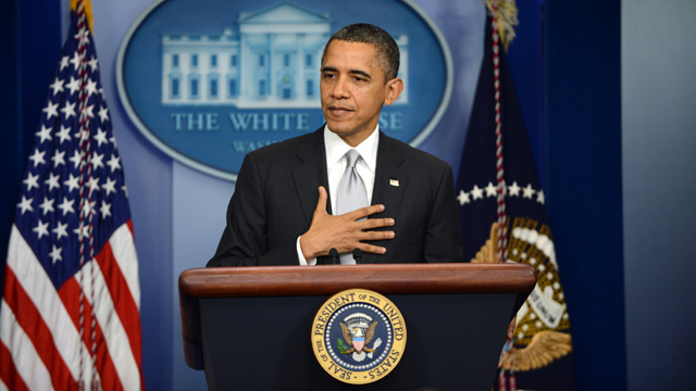 Barack Obama makes statement on gun control