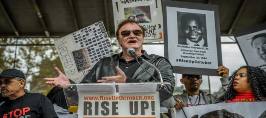 NYPD wants New Yorkers to boycott Quentin Tarantino movies for calling cops murderers