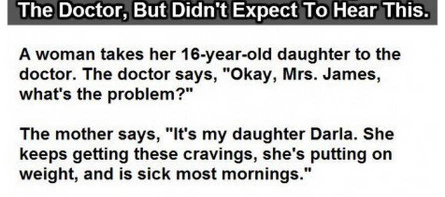 Mom Takes Her Daughter to the Doc…But What Happens Next is AMAZING!