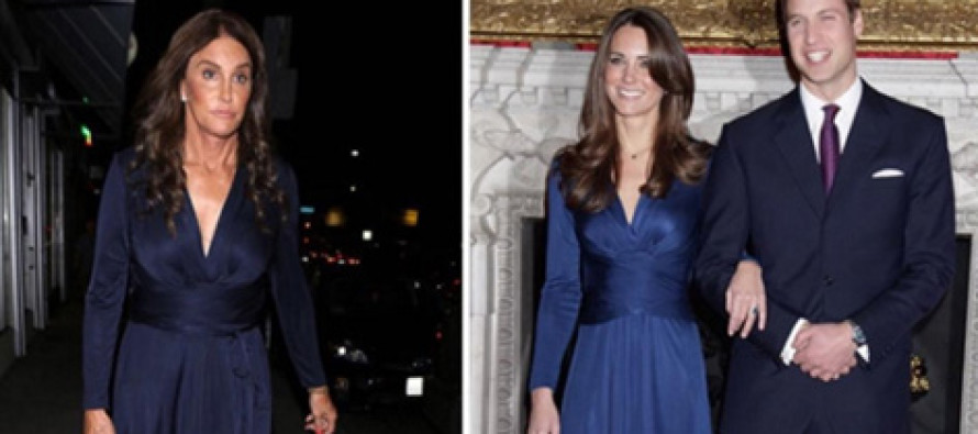 TMZ wants to know who wore this dress better: Yes, really.