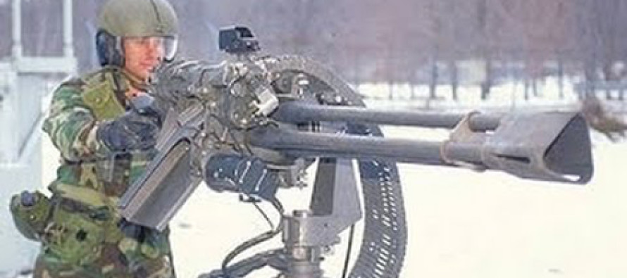 WATCH: Gatling Gun Fires 2000 Rounds in 60 Seconds