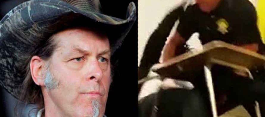 "Ted Nugent Just Stood Up for the ""Body Slam"" Cop"