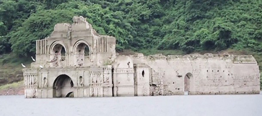VIDEO: 450-Year-Old Church Emerges From Reservoir, Creating A Stunning Scene