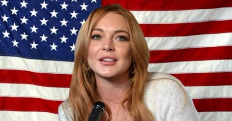 Lindsay Lohan Announces She's Running For POTUS In 2020