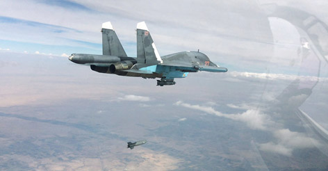Wow! Russian Air Force destroys 29 ISIS camps in Syria in 24 hours