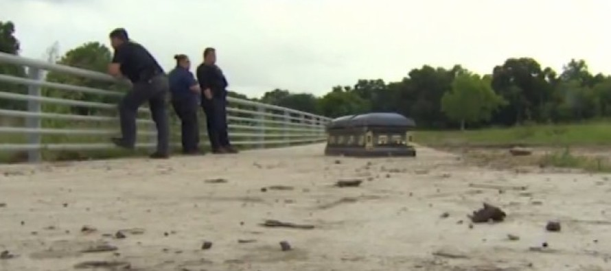 HORRIBLE: When 1000 Year Rain Hits South Carolina Cemeteries, This Happens