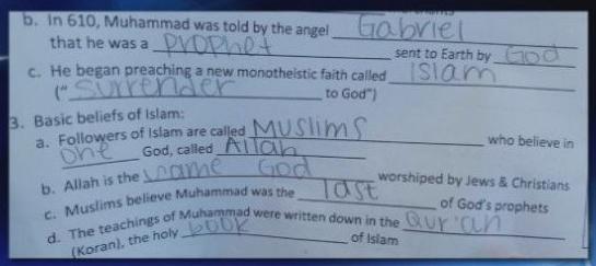 school islam