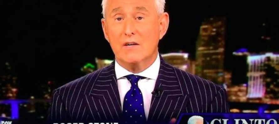 Former Trump Advisor Roger Stone: Bill Clinton 'is a Cosby-type sexual predator'