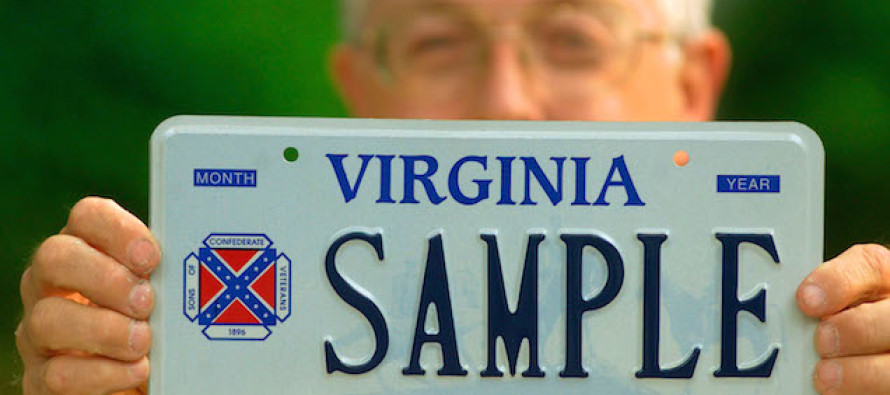 """Virginia Demands Drivers Return """"Racist"""" License Plates and Gets Smacked Down Hard"""