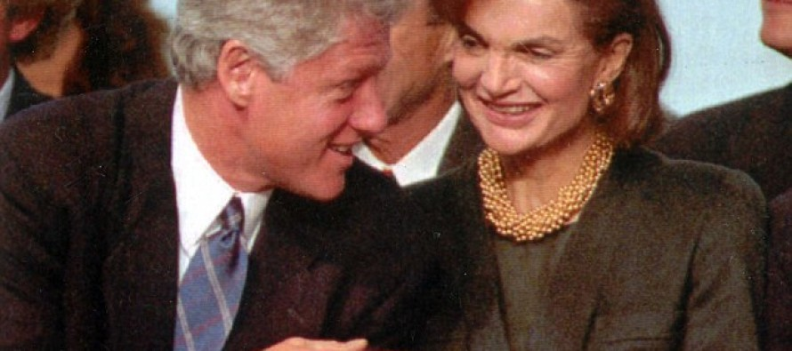 Book: Bill Clinton tried to seduce Jackie Kennedy at her New York apartment'