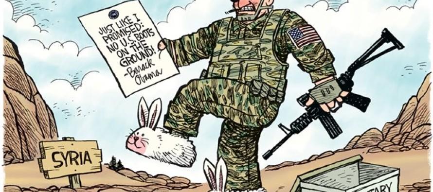 No Boots In Syria (Cartoon)