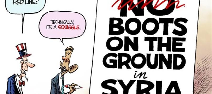 Syria Squiggle (Cartoon)