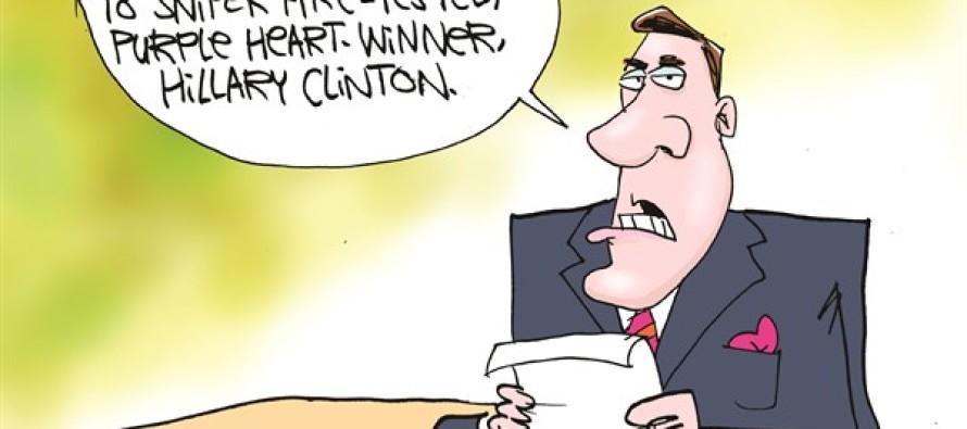 Media Hates Dr Carson (Cartoon)