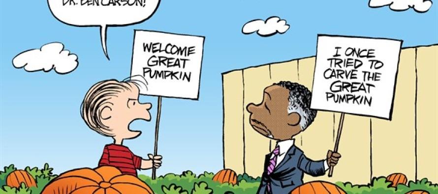 Political Peanuts (Cartoon)