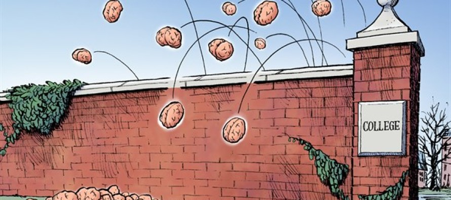 College Safe Spaces (Cartoon)