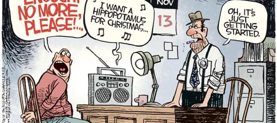 Christmas Music Torture (Cartoon)