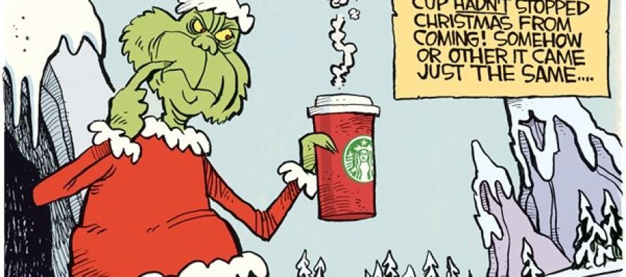 Red Starbucks Cup (Cartoon)