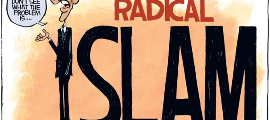 Obama Radical Islam (Cartoon)