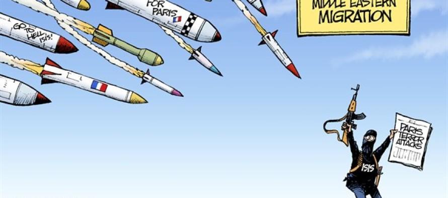 Paris Attack (Cartoon)