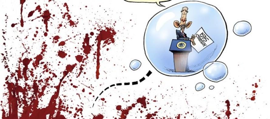 Obama Bubble (Cartoon)