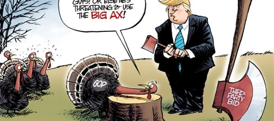 Trumpsgiving (Cartoon)