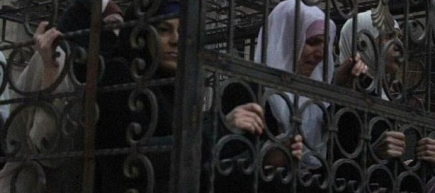 Hundreds Of Women Locked In Cages To Act As Human Shields Against Assad's Air-Strikes