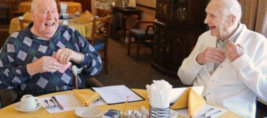 World War II Veterans and Childhood Best Buddies Reunite After 71 Years