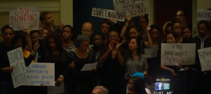 Students Take Over Town Hall Meeting – Read Off List of 50 Demands Addressing Anti-Blackness