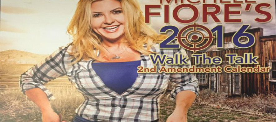 Nevada Blonde Bombshell Politician Releases a Gun Calendar That Leaves Leftists Quivering