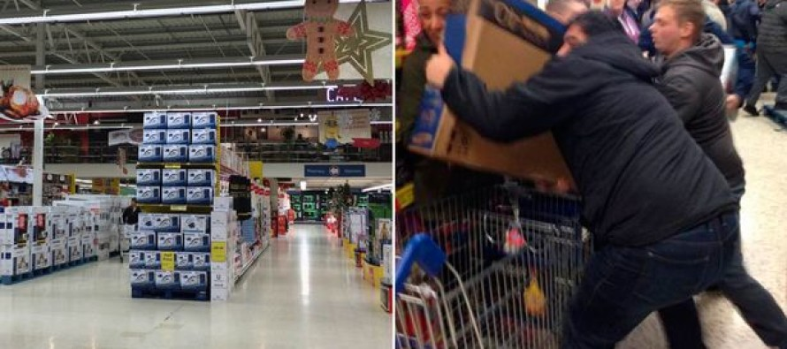 Seasons Beatings: Black Friday 2015 Opens with Brutal Fighting as Shoppers Clash Over Deals