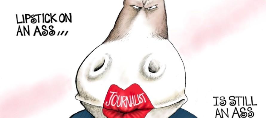 NBC Media Bias (Cartoon)