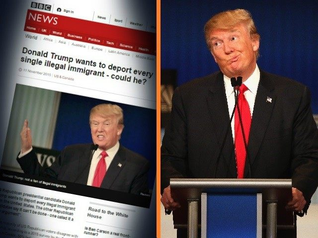Donald Trump BBC
