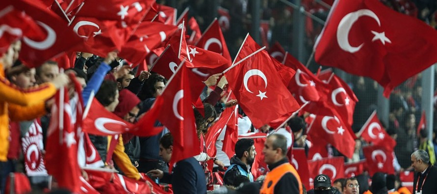 Video: Turkey Fans Boo Moment of Silence for Paris Attacks, Then Break Out Into This Chant