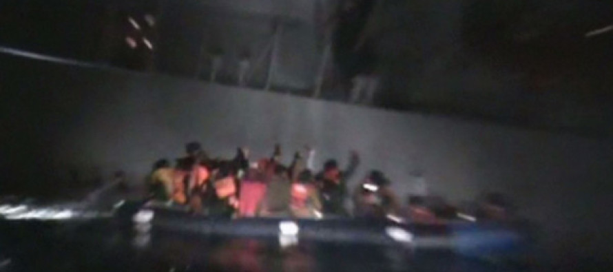 The Shocking Moment Coast Guard Deliberately Sinks Boat Full of Muslim 'Refugees'