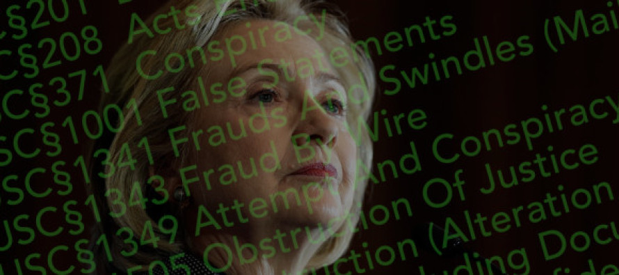 More Trouble for Hillary… Read Clinton's Growing List of Alleged Crimes and Violations