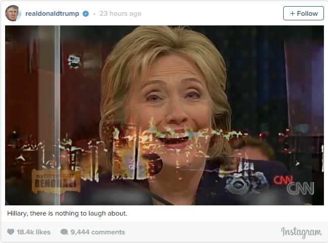 Hillary Laughing1