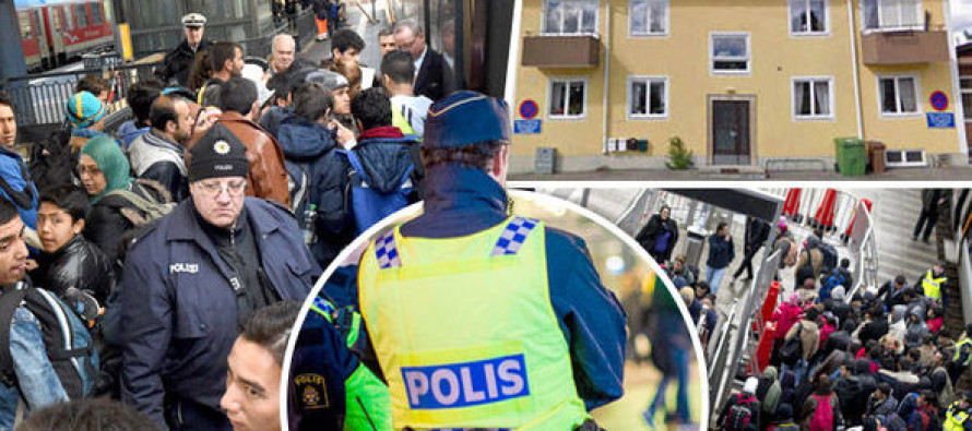 Community torn apart as arrival of migrants causes fighting in streets